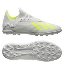 adidas X Tango 18.3 TF Virtuso - Hvid/Gul Børn