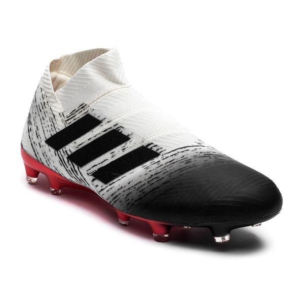 318506547a2 adidas Nemeziz 18+ FG/AG Initiator - Wit/Zwart/Rood | www ...