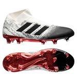 adidas Nemeziz 18+ FG/AG Initiator - Blanc/Noir/Rouge