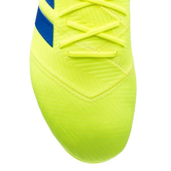 2a4ee947 adidas Nemeziz 18.1 FG/AG Exhibit - Gul/Blå | www.unisportstore.no