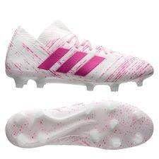 adidas Nemeziz 18.1 FG/AG - Hvid/Pink