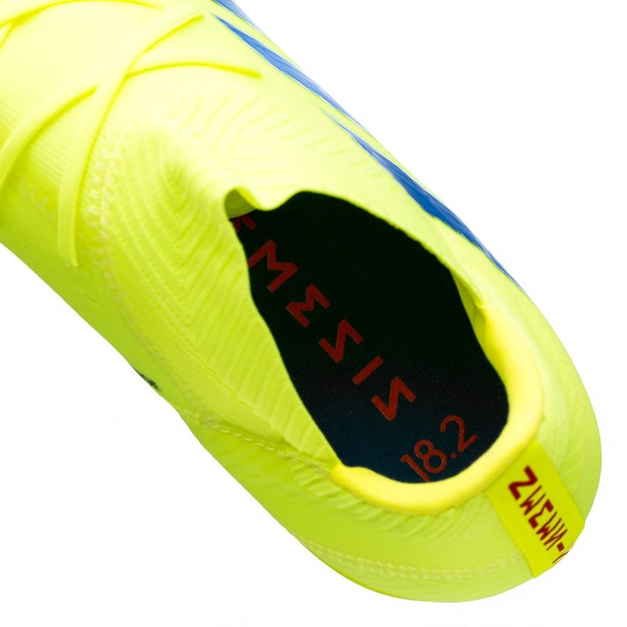 fe761831a0b adidas Nemeziz 18.2 FG AG Exhibit - Solar Yellow Blue