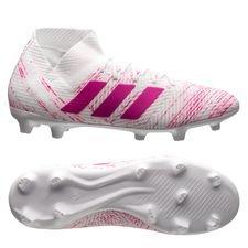 adidas Nemeziz 18.3 FG/AG - Hvid/Pink