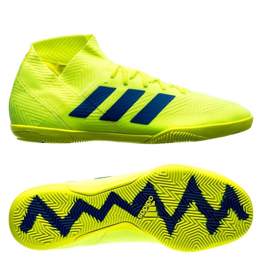 0585e0bcdfa3 adidas nemeziz tango 18.3 in exhibit - solar yellow blue - indoor shoes ...