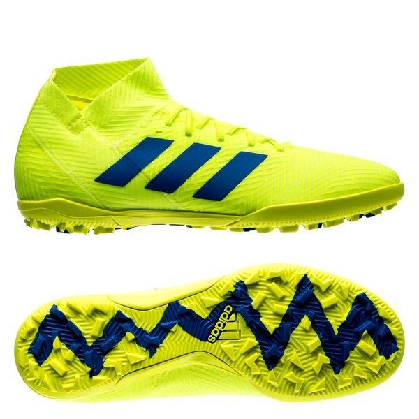 adidas Nemeziz Tango 18.3 TF Exhibit - Solar Yellow/Blue ...