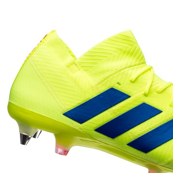 aec219895035 ... adidas nemeziz 18.1 sg exhibit - solar yellow blue - football boots ...