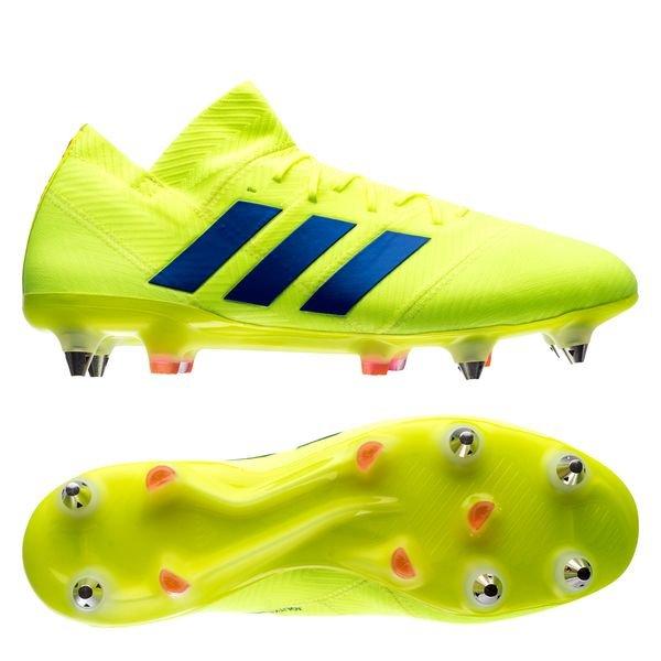 Chaussure de foot adidas Nemeziz 18.1 SG Solar yellow