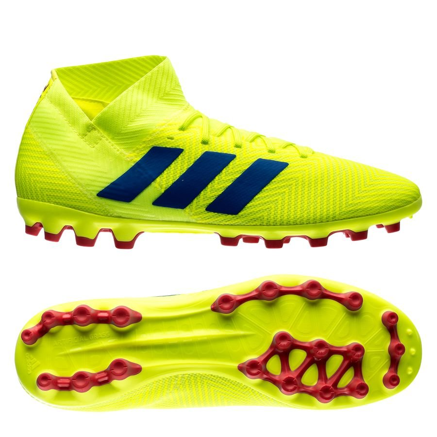 1d35aee3e276 adidas nemeziz 18.3 ag exhibit - solar yellow blue - football boots ...