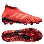 adidas Predator 19+ FG/AG Boost Initiator - Rouge/Noir