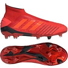 adidas Predator 19+ FG/AG Initiator - Action Red/Core Black PRE-ORDER