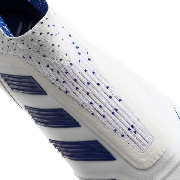 adidas Predator 19+ FG/AG Boost Virtuso - Footwear White/Bold Blue