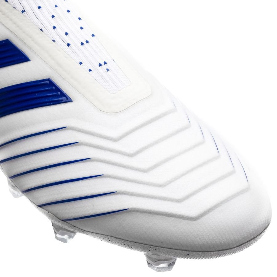 Adidas Predator 19+ FGAG Boost Virtuso Footwear WhiteBold Blue