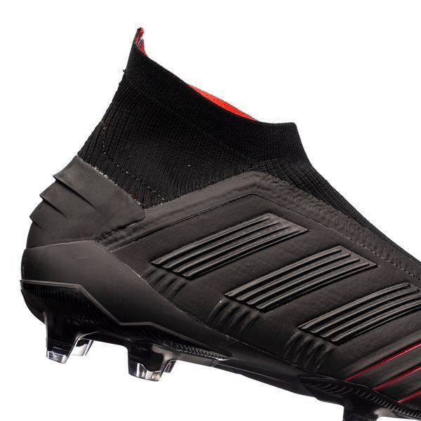 adidas Predator 19+ FG/AG Boost Archetic - Schwarz/Rot
