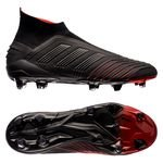 adidas Predator 19+ FG/AG Boost Archetic - Core Black/Action Red