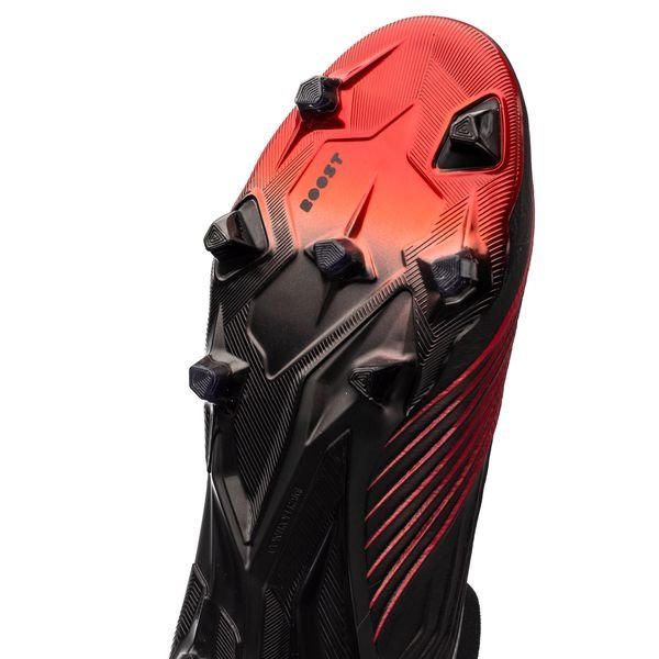 adidas Predator 19+ FG/AG Boost Archetic - Zwart/Rood