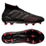 adidas Predator 19.1 FG/AG Archetic - Core Black/Action Red