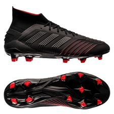 adidas Predator 19.1 FG/AG Archetic - Core Black/Action Red
