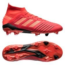adidas predator 19.1 fg/ag initiator - action red/core black - football boots