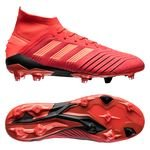 adidas Predator 19.1 FG/AG Initiator - Rouge/Noir