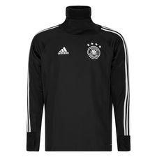 Duitsland Trainingsshirt Warm - Zwart/Grijs