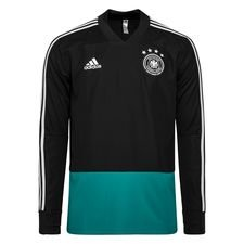 Duitsland Trainingsshirt - Zwart/Groen/Grijs