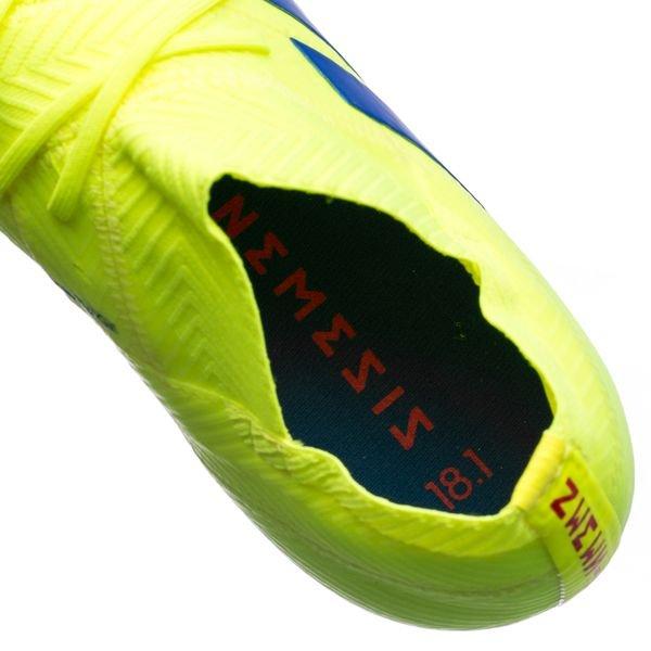 3e021cd4 adidas Nemeziz 18.1 FG/AG Exhibit - Gul/Blå Børn | www.unisport.dk
