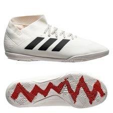 adidas Nemeziz Tango 18.3 IN Initiator - Wit/Zwart/Rood Kinderen