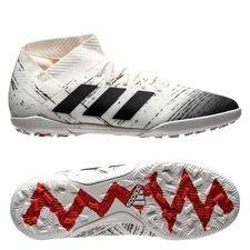 adidas Nemeziz Tango 18.3 TF Initiator - Wit/Zwart/Rood Kinderen