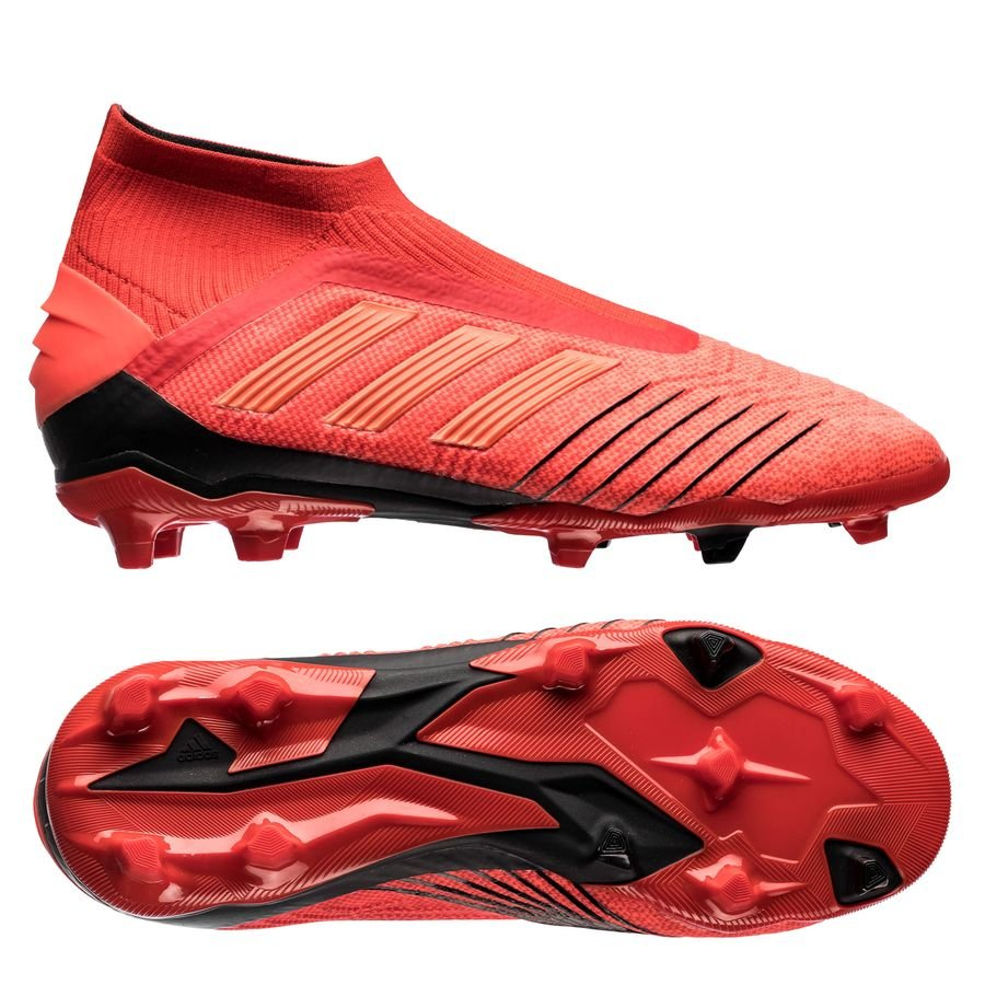 e71ae8772e7 adidas Predator 19+ FG AG Initiator - Action Red Core Black Kids ...