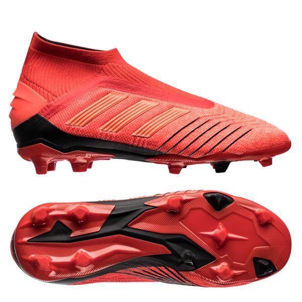 best online website for discount new concept adidas Predator 19+ FG/AG Initiator - Rot/Schwarz Kinder