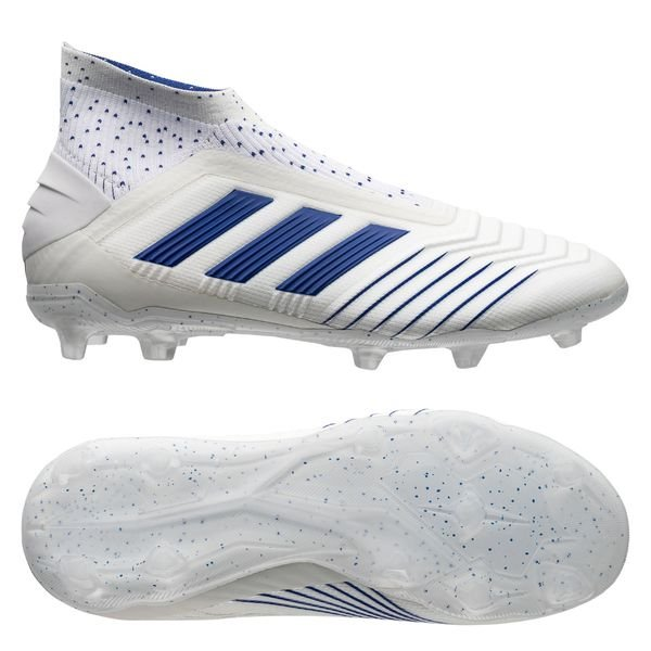 best sneakers release date: recognized brands adidas Predator 19+ FG/AG Virtuso - Blanc/Bleu Enfant