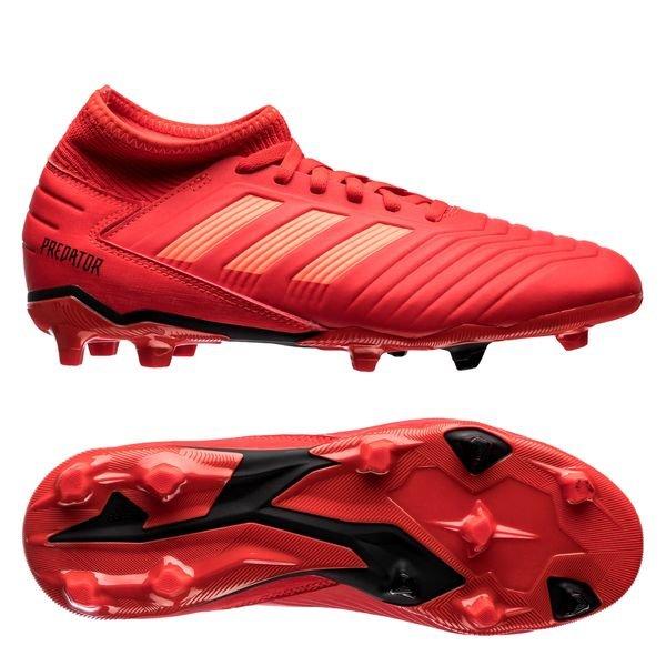 Adidas Predator 19.3 AG Fotballsko Rød