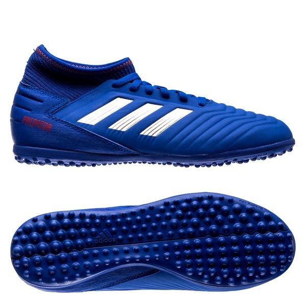 bb04f21590b5 adidas Predator Tango 19.3 TF Exhibit - Bold Blue/Silver Metallic ...