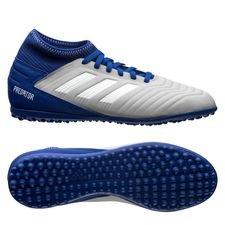 adidas Predator Tango 19.3 TF Virtuso - Grijs/Wit/Blauw Kinderen