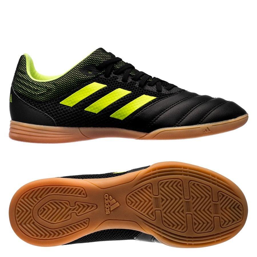 adidas Copa 19.3 IN Exhibit - Sort/Gul Børn thumbnail
