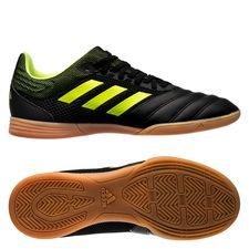 adidas Copa 19.3 IN Exhibit - Zwart/Geel Kinderen