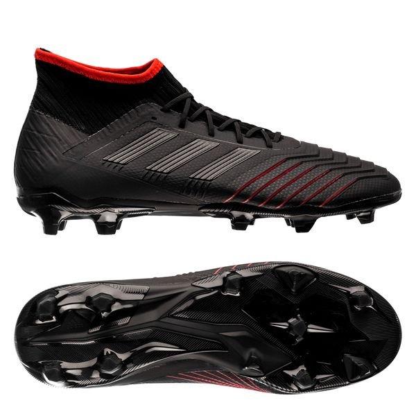 predator adidas schwarz rot
