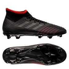 adidas Predator 19.2 FG/AG Archetic - Core Black/Action Red