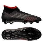 adidas Predator 19.2 FG/AG Archetic - Core Black/Action Red