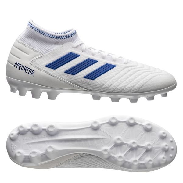 cuero Elasticidad contenido  adidas Predator 19.3 AG Virtuso - Footwear White/Bold Blue |  www.unisportstore.com