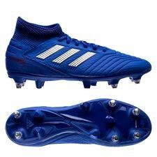 adidas Predator 19.3 SG Exhibit - Blauw/Zilver/Rood