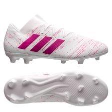 adidas Nemeziz 18.2 FG/AG - Hvid/Pink