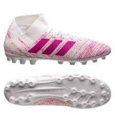 adidas Nemeziz 18.3 AG - Hvid/Pink