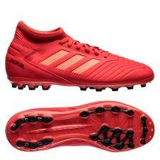 adidas predator 19.3 ag initiator - rød/sort børn - fodboldstøvler