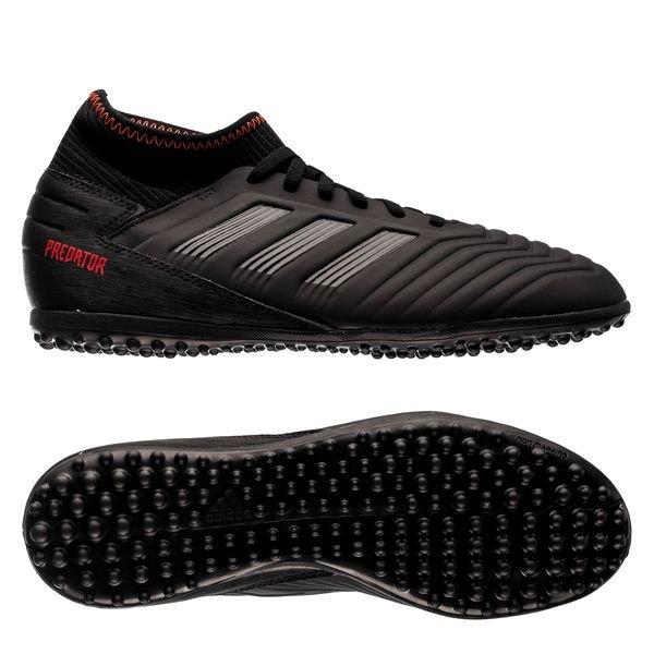 adidas Predator Tango 19.3 TF Archetic - Core Black/Action Red Kids