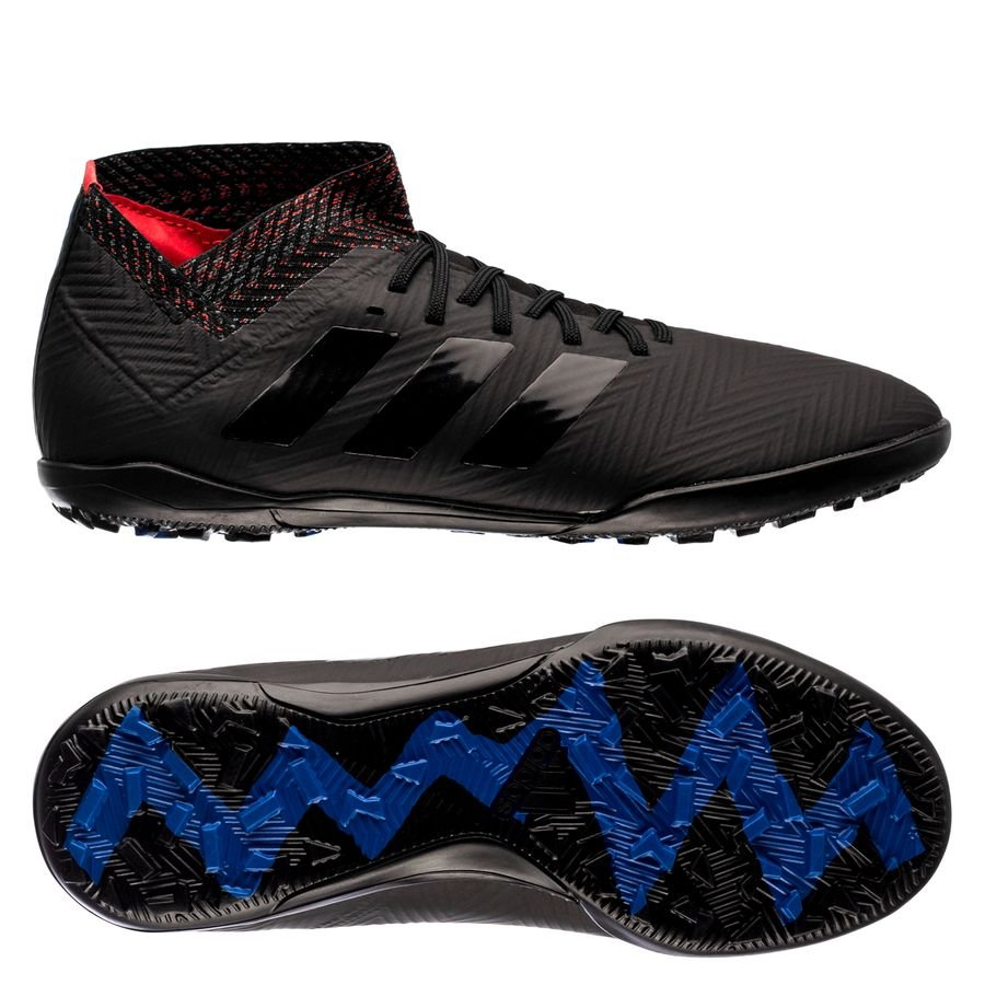 30159d3c16a3 adidas nemeziz tango 18.3 tf archetic - core black blue kids - football  boots ...