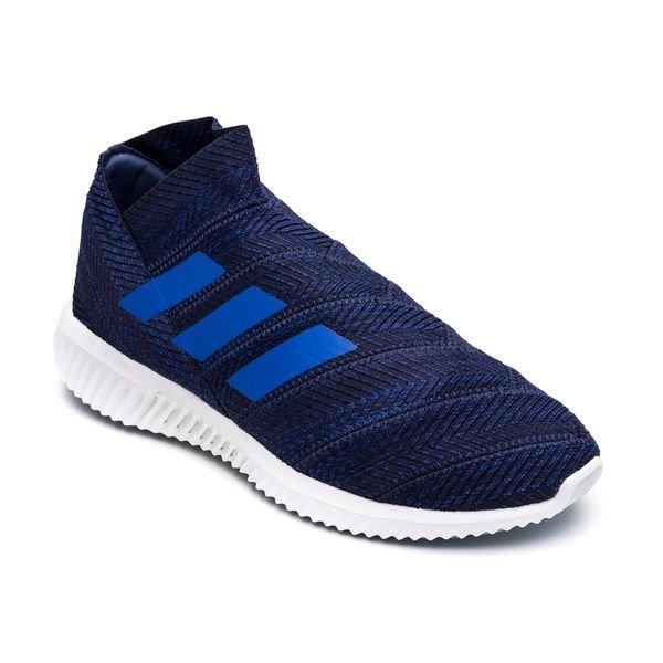 49cdf4473155 adidas Nemeziz Tango 18.1 Trainer Exhibit - Dark Blue/Footwear White ...