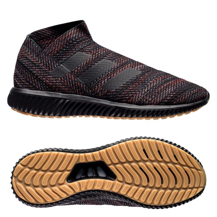 0436319eed01f3 adidas nemeziz tango 18.1 trainer initiator - core black action red -  sneakers ...