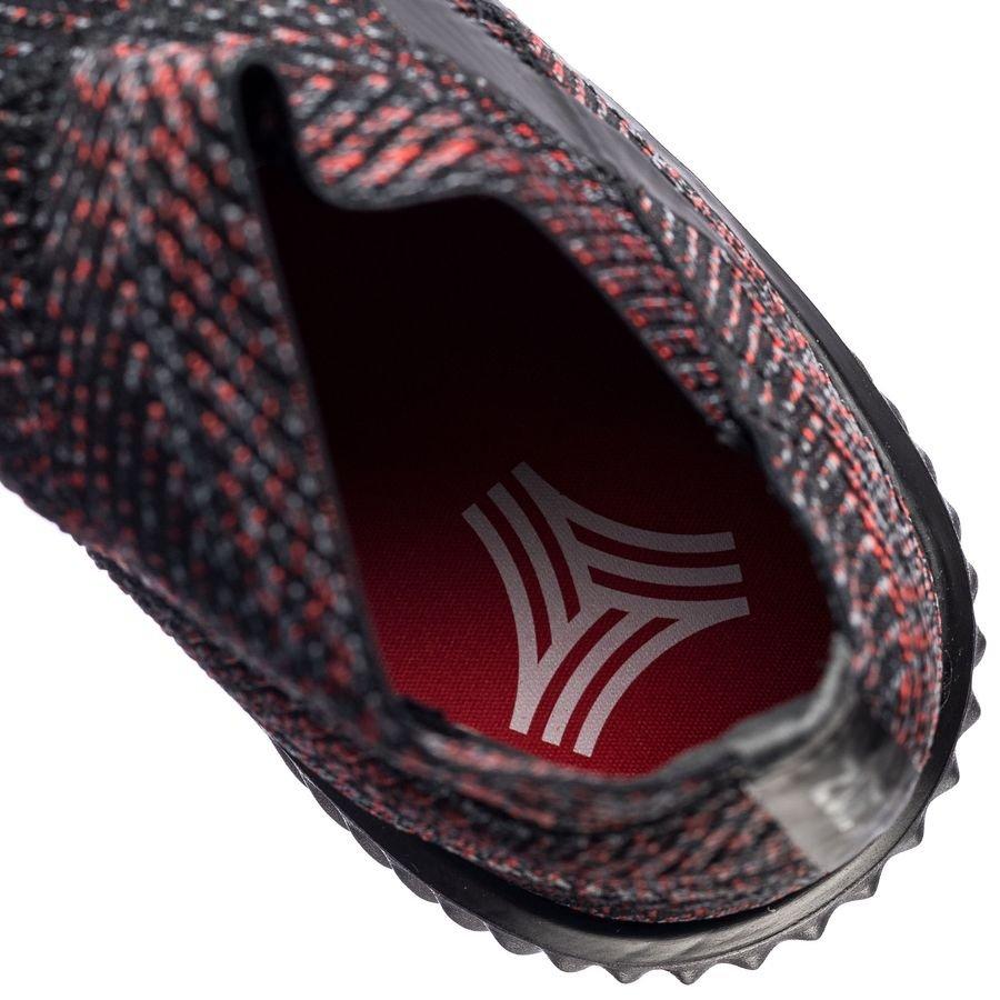 0724a53044b6b9 adidas nemeziz tango 18.1 trainer initiator - core black action red -  sneakers