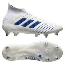 low priced 3efe2 56cc7 adidas Predator 19.1 SG Virtuso - Vit Blå